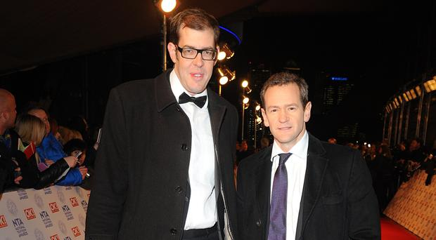 Pointless presenters Richard Osman and Alexander Armstrong
