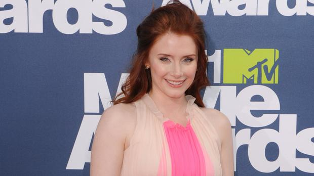 Bryce Dallas Howard, pictured, said Jennifer Aniston showed wisdom and courage