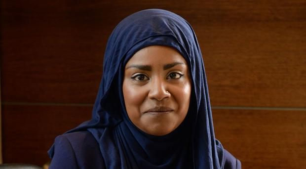 Nadiya Hussain said she was reduced to tears by a mean tweet