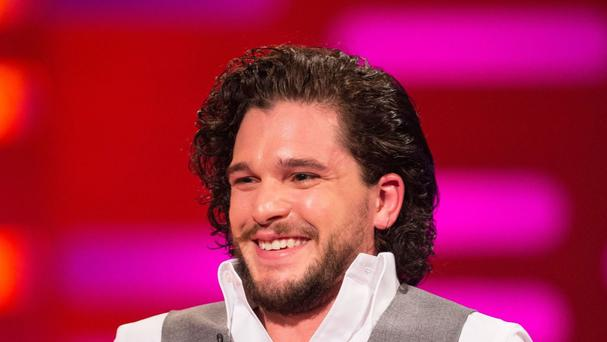 Kit Harington plays Jon Snow