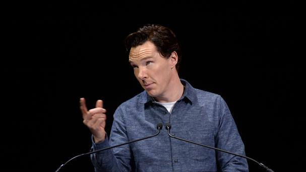 Benedict Cumberbatch appeared at a previous run of Letters Live at the Freemason's Hall