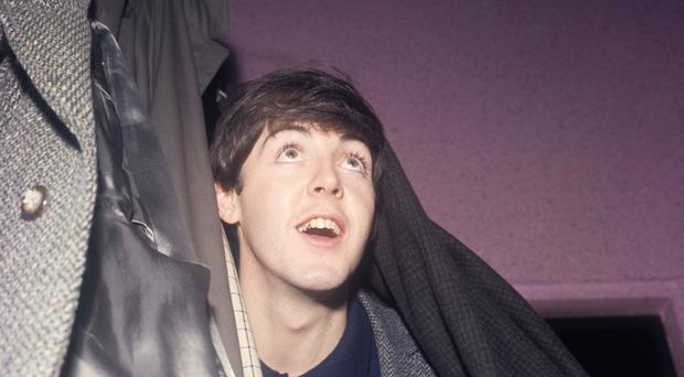 The recording turned out to feature Paul McCartney.
