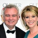 Eamonn Holmes and Ruth Langsford remained professional