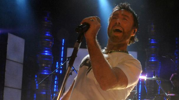Paul Rodgers, performing with Queen in London in 2008