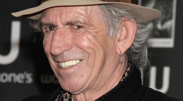 Rolling Stones rocker Keith Richards said he had heard a