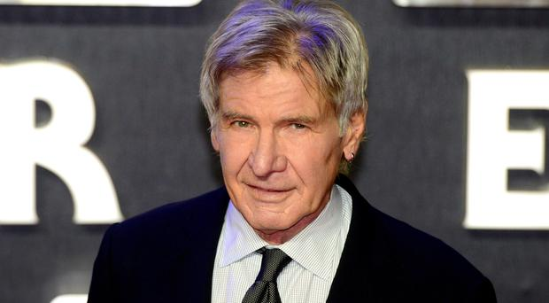 Harrison Ford had to be airlifted to hospital after breaking his leg on the set of Star Wars: The Force Awakens