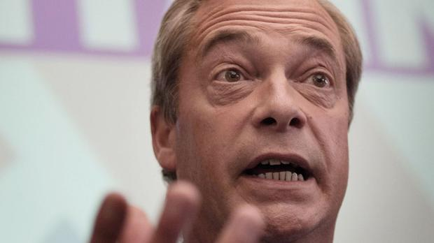 Nigel Farage will not confirm or deny a report that he was turned down by CBB bosses after asking for £750,000