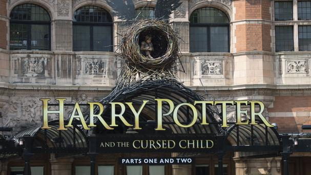 Harry Potter And The Cursed Child opens at the Palace Theatre on Saturday