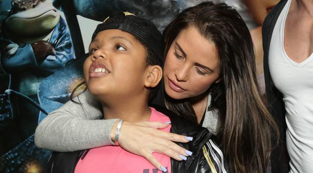 Katie Price claimed son Harvey was going to be taken from her car