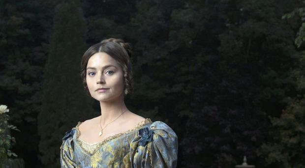 Jenna Coleman plays a young Queen Victoria
