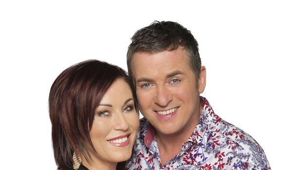 Kat and Alfie Moon are crossing the Irish sea