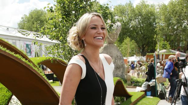 Sarah Harding will be making her stage debut