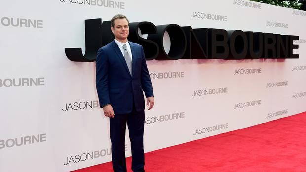 Matt Damon was promoting his new film Jason Bourne