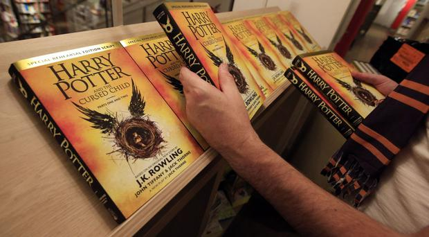 The book of the play has been flying off shelves.