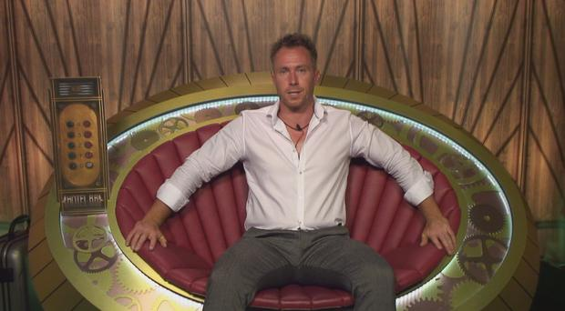 James Jordan when he was in the Big Brother house.
