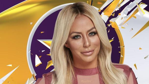 Aubrey O'Day has been given a formal final warning on Celebrity Big Brother (Channel 5/PA)