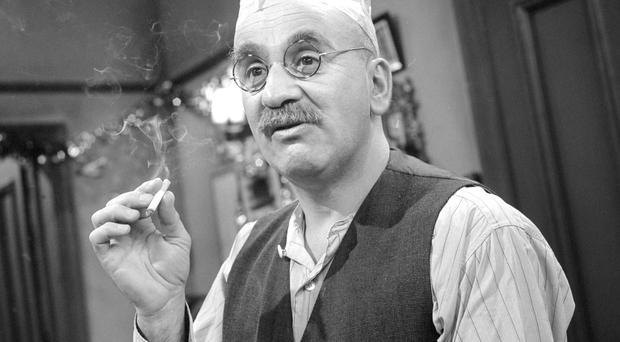 Warren Mitchell as the original Alf Garnett.