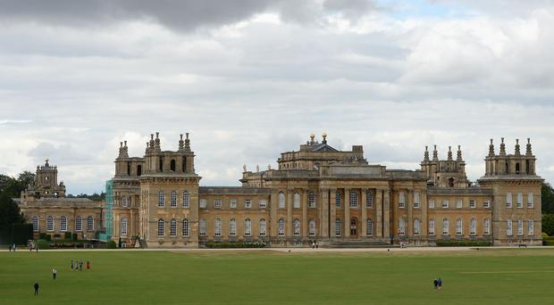 BBC Countryfile Live is being held at Blenheim Palace
