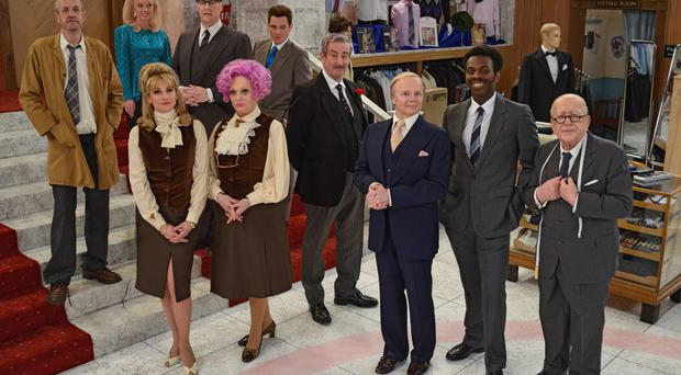 The new cast of Are you Being Served?