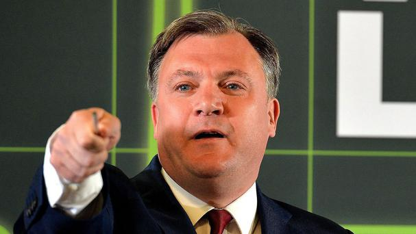 Ed Balls is the first contestant to be named for the new series of Strictly Come Dancing