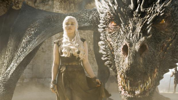 A scene from the hit TV adaptation of George RR Martin's Game Of Thrones (Sky/PA)