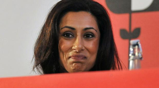 Saira Khan was nominated for eviction from Celebrity Big Brother