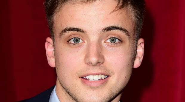 Actor Parry Glasspool, who plays Harry Thompson in Channel 4 soap Hollyoaks