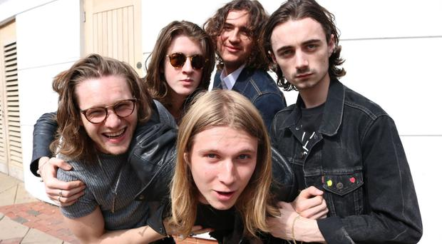 Blossoms went straight in at Number 1 with their debut album (Official Charts Company/PA)