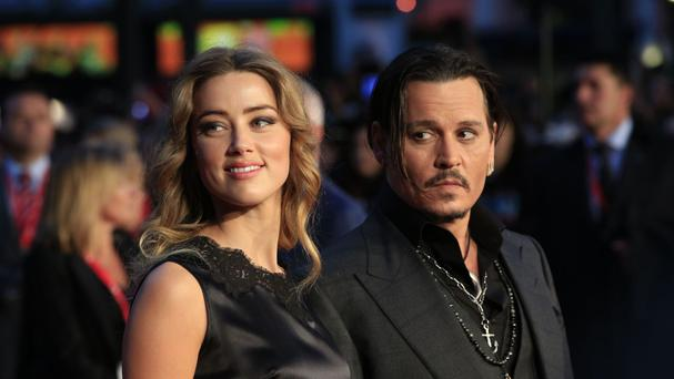Amber Heard is embroiled in divorce proceedings with Johnny Depp