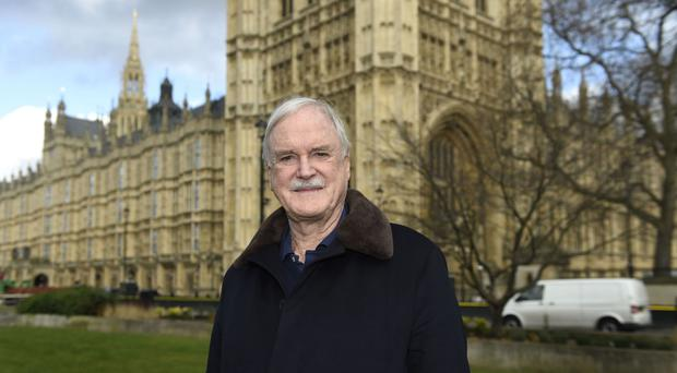 John Cleese is looking forward to his trip to Berlin