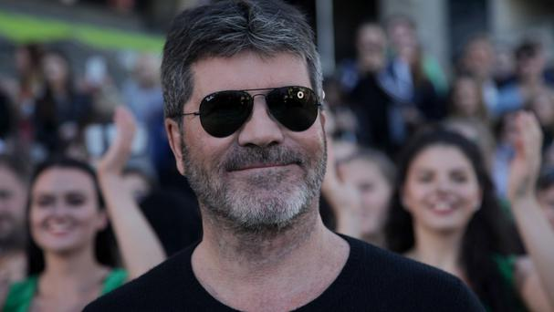 Simon Cowell arrives at auditions for the upcoming series of The X Factor