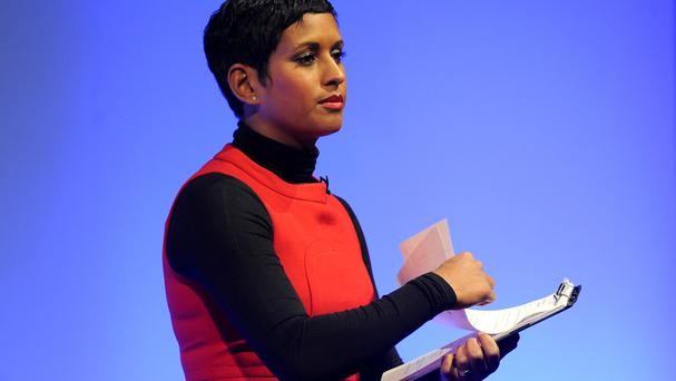 Naga Munchetty is a newsreader and presenter.