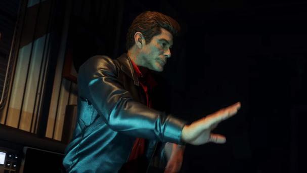 David Hasselhoff appearing in virtual form as a DJ in Call Of Duty: Zombies In Spaceland (Activision/PA)