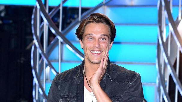 Lewis Bloor leaves the Celebrity Big Brother house