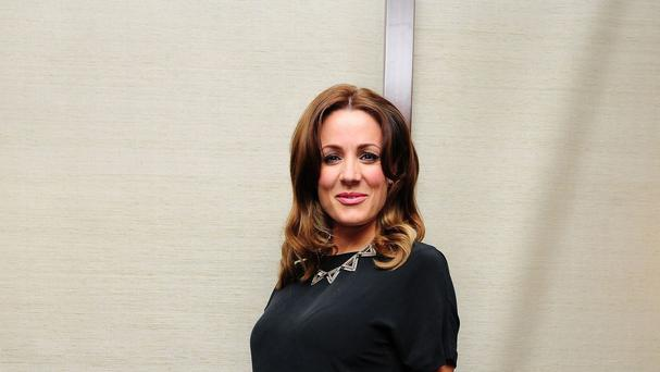 Natalie Pinkham gave birth to Willow Mirela eight weeks ago