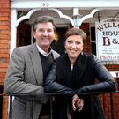 Daniel and Majella O'Donnell during the first series of their travel show