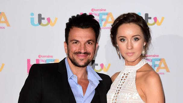 Peter Andre and his wife Emily MacDonagh