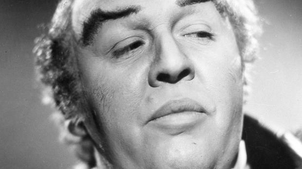 Charles Laughton as Captain Bligh in the 1935 Mutiny On The Bounty
