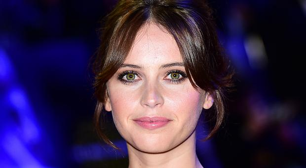 Felicity Jones stars in the film