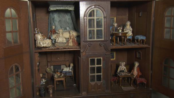 One of England's oldest and most valuable doll's houses, built in 1705 (BBC/PA)
