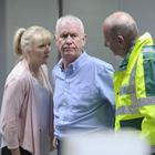 Derek Thompson as Charlie Fairhead with Cathy Shipton (as Duffy) and Ian Bleasdale (as Josh)