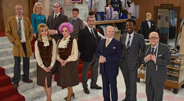 Are you Being Served? returned to the BBC with a new cast