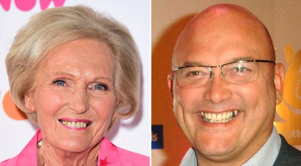 Mary Berry and Gregg Wallace, who have clashed over deep-fat fryers