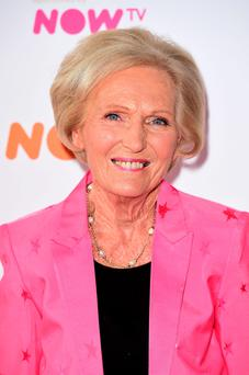 Risks claim: Mary Berry