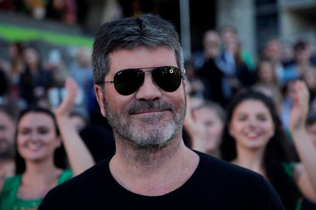 Low blow: judge Simon Cowell