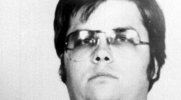 A police picture of Mark Chapman after he had killed John Lennon