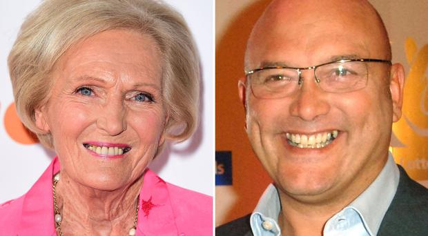 Mary Berry and Gregg Wallace have different views on the merits of deep-fat fryers