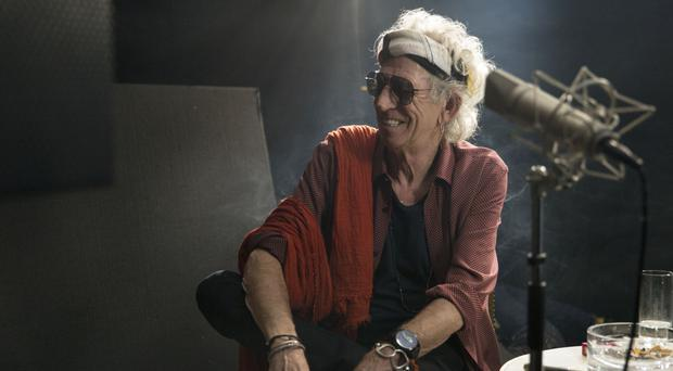 Keith Richards will pick the programmes