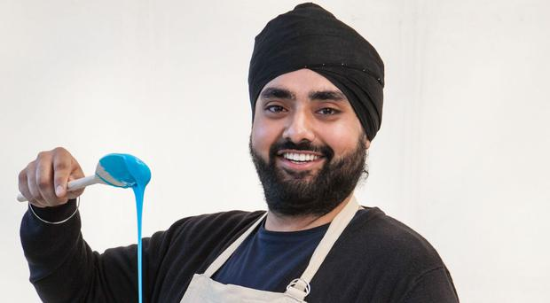 The 28-year-old Sikh has made it through to the third week on the popular BBC programme