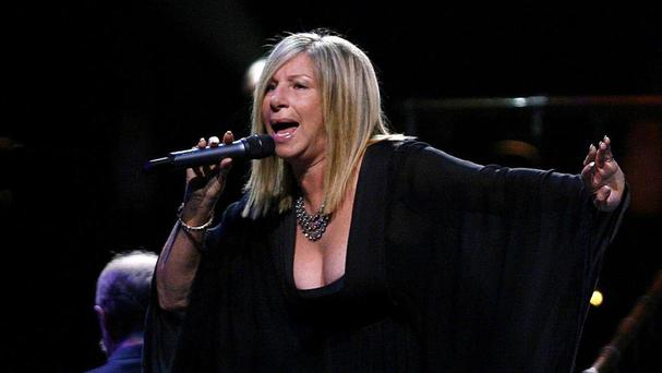 Barbra Streisand is back at the top of the UK album charts